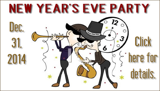New Year's Eve Party - Details COming soon